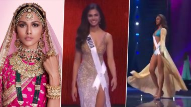 Miss Universe 2020: India's Adline Castelino's Evening Gown, Bikini and National Costume Saree Look
