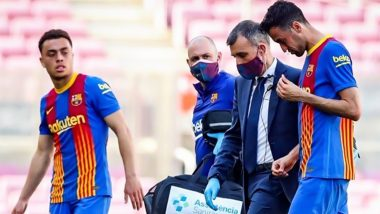 Sergio Busquets Injury Update: Barcelona Midfielder Suffers Fractured Jaw During Atletico Madrid Clash in La Liga