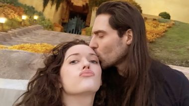 WandaVision Actress Kat Dennings and Beau Andrew WK Share a Passionate Lip-Kiss in Public (See Pic)