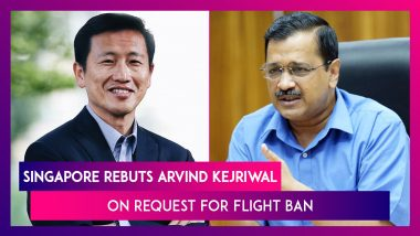 Singapore Rebuts Arvind Kejriwal On Request For Flight Ban, Rejects Kejriwal's Tweet On Covid-19 Strain In The Country