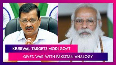 Arvind Kejriwal Targets Modi Government Over Vaccine Procurement, Gives War With Pakistan Analogy