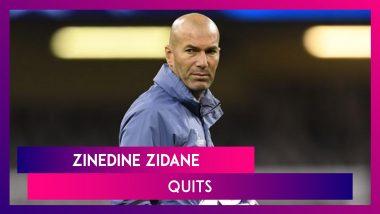 Zinedine Zidane Quits As Head Coach Of Real Madrid