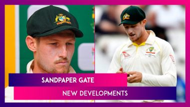 Sandpaper Gate: Cameron Bancroft Claims Bowlers Were Aware About Ball Tampering Plot
