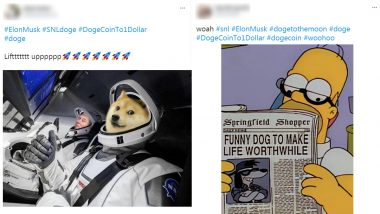 #DogeCoinTo1Dollar Funny Memes and Jokes Go Insane Viral! As Elon Musk Is Live on SNL, Netizens Share Dogecoin Hilarious Reactions
