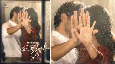 Sirish 6: Allu Sirish Shares the First Glimpse of His Romantic Film With Anu Emmanuel (View Post)