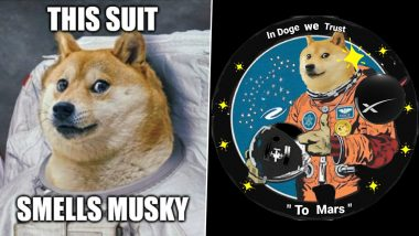 Elon Musk's SpaceX to Launch a Dogecoin-Funded Satellite to the Moon! Netizens Flood Twitter with Funny Memes and Jokes