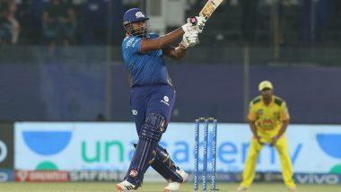 MI vs CSK, IPL 2021 Stat Highlights: Kieron Pollard Shines As Mumbai Indians Register Second-Highest Successful Run-Chase in Competition History