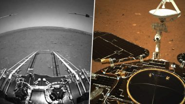 China's Tianwen-1 Probe Sends Back Mars Landing Visuals, See Pictures and Videos From Red Planet