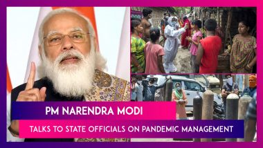 PM Narendra Modi Meets With District Magistrates Over Covid-19 Pandemic Management
