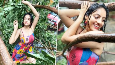 Deepika Singh Reacts on Being Slammed for Posing and Dancing Amid Cyclone Tauktae, Says 'Will Not Stop Spreading Positivity'