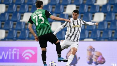 Cristiano Ronaldo Creates History After Scoring In Juventus' 3-1 Win Over Sassuolo in Serie A 2020-21 Fixture