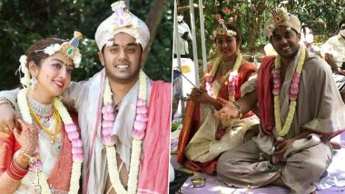 Pranitha Subhash, Nitin Raju Tie the Knot in a Private Ceremony, Actress Apologises to Their Loved Ones for Not Informing Them Beforehand (View Post)