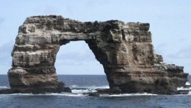 Iconic Darwin's Arch In Galapagos Collapses Into The Pacific Ocean As a Result of 'Erosion'