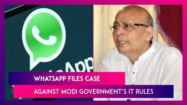 WhatsApp Files Case Against Modi Government's IT Rules, Says It Weakens User Privacy; Congress Says New IT Rules Draconian