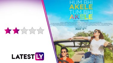 Hum Bhi Akele Tum Bhi Akele Movie Review: Zareen Khan and Anshuman Jha's Gender-Less 'Love Story' Passes Muster (LatestLY Exclusive)