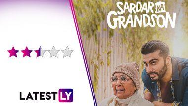 Sardar Ka Grandson Movie Review: Neena Gupta Turns Saviour in Arjun Kapoor and Rakul Preet's Half-Baked Netflix Film (LatestLY Exclusive)
