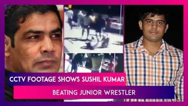 Sushil Kumar, Two-Time Olympic Medalist Caught On CCTV Beating Sagar Dhankar, A Junior Wrestler Who Allegedly Died  Due To Those Injuries