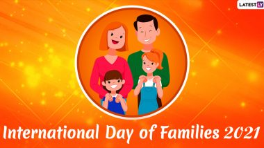 International Day of Families 2021 Wishes & Greetings: Send Family Quotes, WhatsApp Stickers, Telegram Messages, Signal Images to Celebrate Your Family