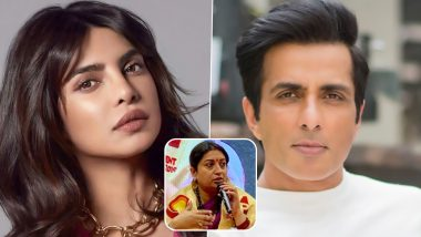 Priyanka Chopra Hails Sonu Sood's Free Education Idea For Kids Affected Due to COVID-19, Smriti Irani Drops Helpline No in the Comments Section