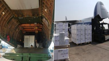 COVID-19 Surge in India: Consignment of Oxygen Generators & 1,000 Ventilators Arrives From United Kingdom