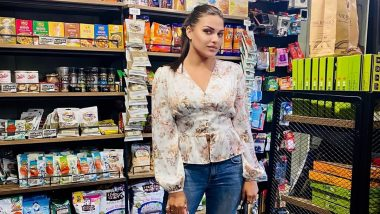 Bigg Boss 13's Himanshi Khurana Goes Out For Grocery Shopping and We Love Her Stylish Look (See Pic)