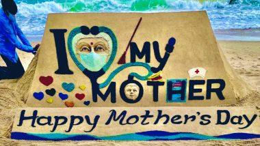 On Mother's Day 2021, Sudarsan Pattnaik's Sand Art Is Winning Hearts! Padma Shri Awardee Pays Tribute to COVID-19 Frontline Warriors