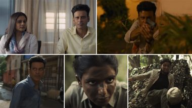 The Family Man Season 2 Trailer: Manoj Bajpayee, Samantha Akkineni's Series Is Packed With Exciting Twists and Unexpected Climax (Watch Video)