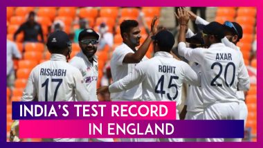 ICC WTC Final: India's Test Record in England