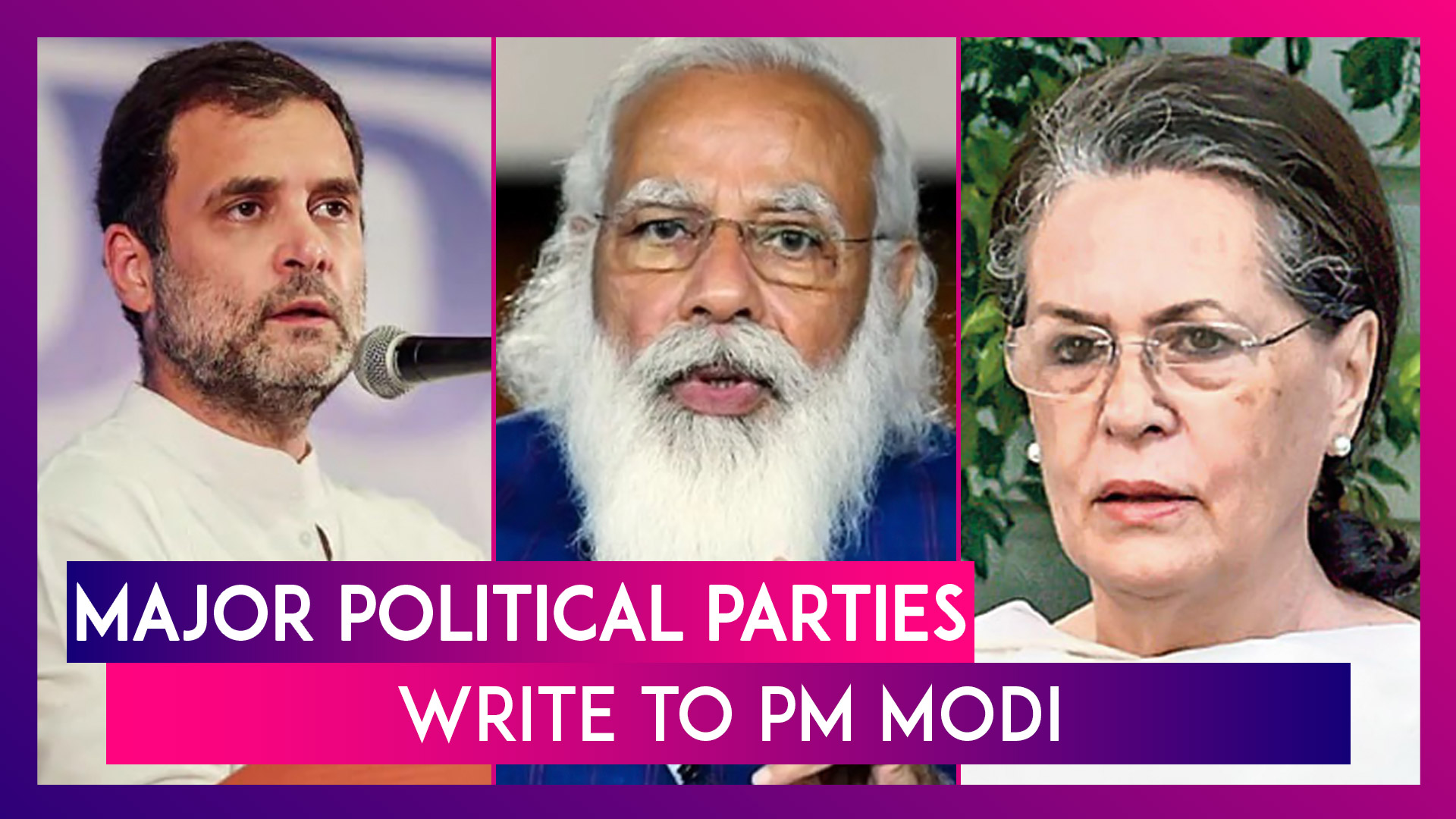 Major Political Parties Write To PM Narendra Modi With Suggestions To Control Second Covid-19 Surge