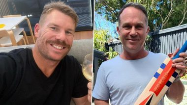 IPL 2021: David Warner and Michael Slater Deny Reports Of Fight In Maldives Bar