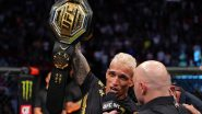 UFC 262 Results: Charles Oliveira Defeats Michael Chandler To Become New Lightweight Champion