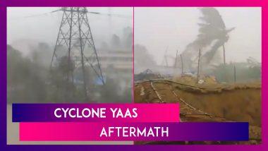 Cyclone Yaas Aftermath: Cyclonic Storm Batters Bengal, Odisha; Rescue, Restoration Work Underway
