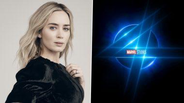 Emily Blunt Shuts Down Fantastic Four Casting Rumors, Actress Confirms She and Hubby John Krasinski Aren't Contacted Regarding This