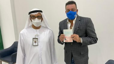Sanjay Dutt Receives Golden Visa for the UAE, Actor Expresses Gratitude to the Authority for the Honour (View Post)