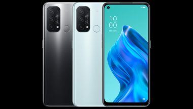 Oppo Reno5 A Smartphone With Snapdragon 765 SoC Launched; Prices, Features & Specifications
