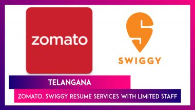Telangana: Zomato, Swiggy Resume Services With Limited Staff After Food Delivery Boys Roughed Up By Cops