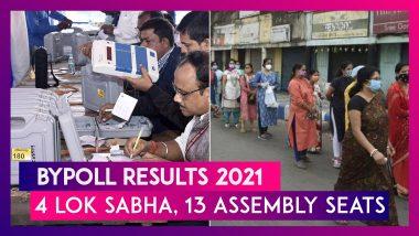 Bypoll Results 2021: BJP Wins 5 Assembly Seats, Congress 4; ZPM, JMM, NDDP, TRS Get 1 Each