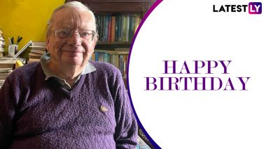 Happy Birthday, Ruskin Bond! Netizens Share Quotes and Messages to Celebrate the Beloved Indian Author on Twitter