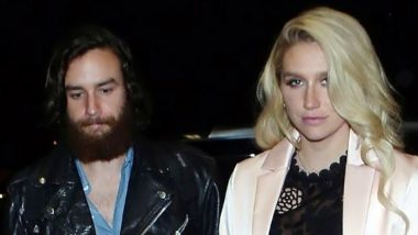 Singer Kesha Takes Romantic Stroll on Hawaii Beach With Boyfriend Brad Ashenfelter