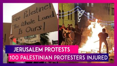 Jerusalem: 100 Palestinian Protesters Injured As Protests Continue For Second Night Over Sheikh Jarrah