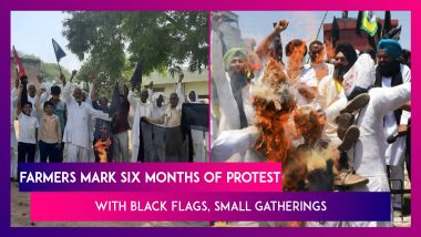 Farmers Mark Six Months Of Protest Against Modi Govt's Farm Laws With Black Flags, Small Gatherings