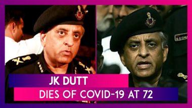 JK Dutt, Who Led NSG Commandos During 2008 Mumbai Attack, Dies Of Covid-19 At 72