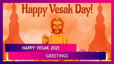 Happy Vesak 2021 Greetings: WhatsApp Messages, HD Images and Quotes To Celebrate Buddha Purnima