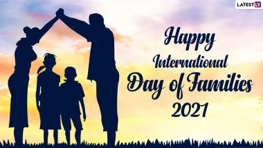 Happy International Day of Families 2021 Greetings & Messages: Wishes, Family Quotes, Signal HD Images, Telegram Pics & WhatsApp Stickers to Celebrate the Family Day