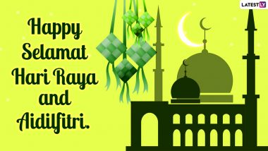 Selamat Hari Raya Aidilfitri 2021 Greetings, Hari Raya Puasa Messages and WhatsApp Stickers