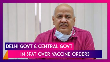 Delhi's AAP Government & BJP Led Central Government In Spat Over Vaccine Orders
