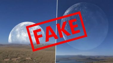 Gigantic Moon Seen Crossing The Sun in North Pole in Arctic Region Between Canada And Russia For 30 Seconds? The Viral Video is Fake