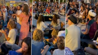 'A Ray of Hope!' Israelis Chant 'Om Namah Shivay' in Unison to Pray for India Braving the COVID-19 Wave, Viral Video Will Touch Your Heart!