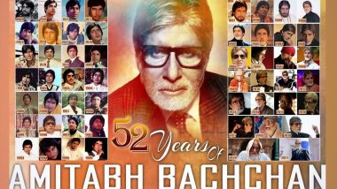 Amitabh Bachchan Marks 52 Years in Bollywood, Says 'Still Wondering How It All Went By' (View Post)