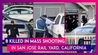California: 8 Killed In Mass Shooting In San Jose Rail Yard